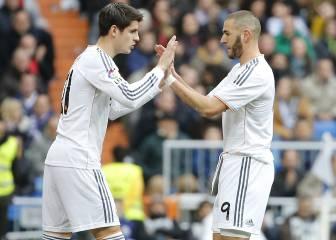 La pareja Benzema-Morata deja dudas: 5 goles juntos en 2 años