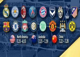 Cómo y dónde ver la International Champions Cup