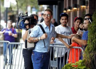 Las imágenes de Sergio Ramos y Modric en Ohio