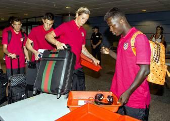 El Atlético de Madrid viajó a Australia