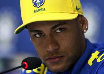 Neymar, a un periodista: