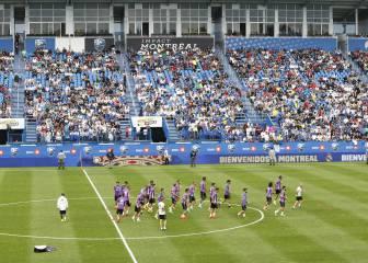 El Madrid dijo adiós a Montreal ante 3.500 hinchas canadienses