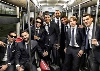 Los equipos de La Liga Santander se ponen elegantes