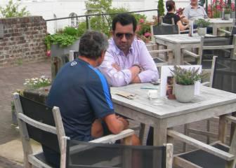 El jeque Al-Thani se reúne con Juande y el director deportivo