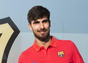 André Gomes, en Barcelona:
