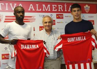 Diamanka y Quintanilla darán su