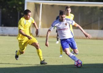 El Zaragoza se impone con un gol de Ángel de penalti