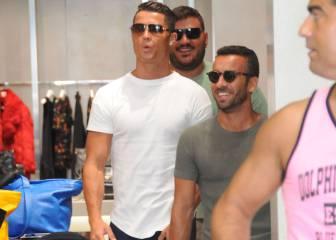 Cristiano se va de compras y revoluciona Beverly Hills