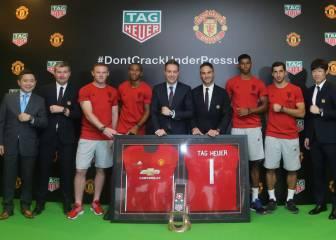 El Manchester United anuncia su acuerdo con TAG Heuer