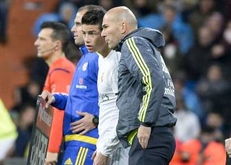 Zidane confirma que James se queda en el Real Madrid