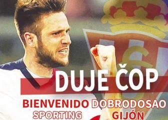 El Sporting logra la cesión del delantero croata Duje Cop