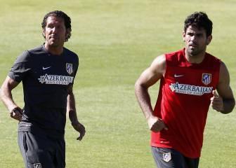 Diego Costa llama a Simeone y pide que el Atlético le espere