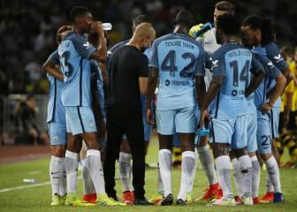 El City de Guardiola logra en los penaltis su primera victoria