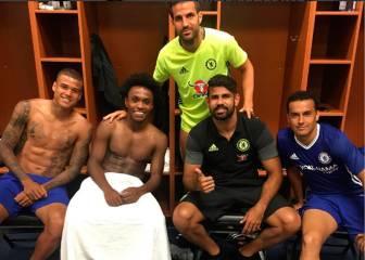 ¿Se ha despedido Diego Costa del Chelsea con este mensaje?