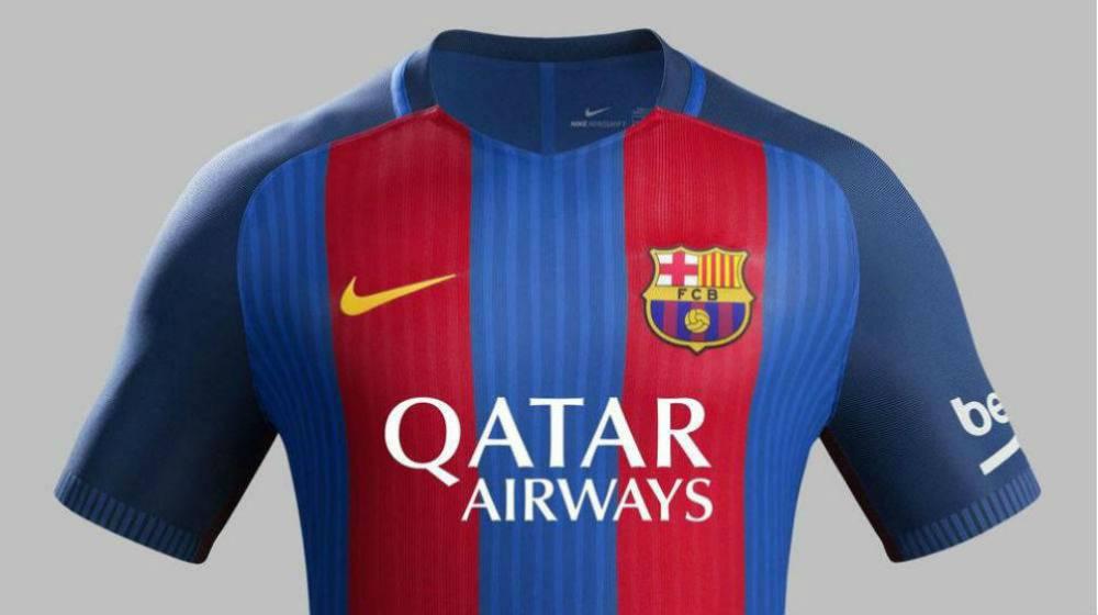 4f160b5d21190 Barcelona s 2016-17 shirt is