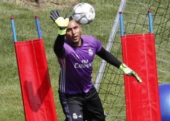 Keylor alaba a Zidane: