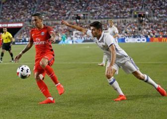 Zinedine hizo debutar a su hijo Enzo Zidane con el Madrid