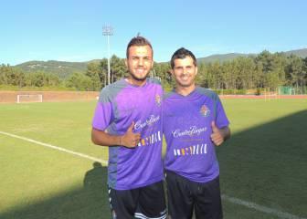 Jordan y Alex López, al 100% en sus primeras horas en pucela