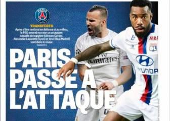 Jesé ocupa la portada de L'Equipe: el PSG pasa al ataque