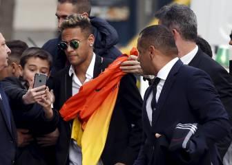 Un fan de Neymar es detenido por colarse en el hotel de Brasil