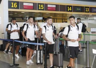 El Valencia viaja a Finlandia sin Mustafi y Nani