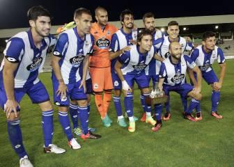 Carles Gil debuta con gol en el triunfo ante el Racing Ferrol