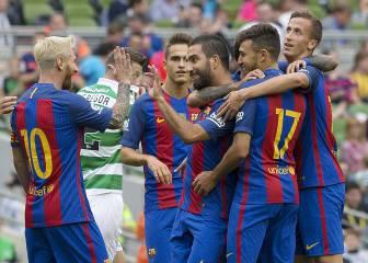 International Champions Cup: Celtic-Barcelona en imágenes