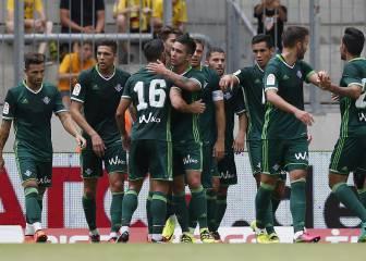 El Betis gana la Dresden Cup tras su empate con el Everton