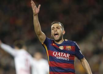 """Jordi Alba: """"No hay color entre Cristiano y Messi"""""""