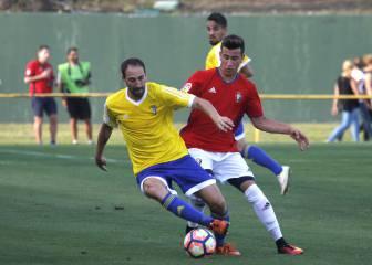 Güiza guía al Cádiz a la victoria ante el Osasuna
