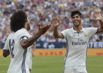 1x1 del Madrid: Marcelo enseña el camino y brilla Asensio