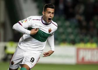Osasuna y Eibar se suman a la puja por Sergio León