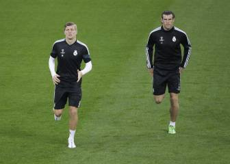 Bale, Pepe y Kroos vuelven hoy al trabajo con el Real Madrid