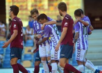 Ibán Salvador le da la victoria al Valladolid en Pasarón