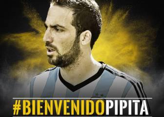Inter-PSG y Nápoles juegan con el dinero de la Juve por Higuaín