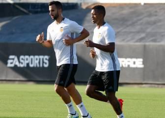 Nani y Montoya ya se entrenan en Paterna