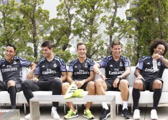 El Madrid presenta en Nueva York su tercera equipación