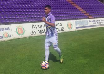 Ibán Salvador se estrenó como goleador del Pucela