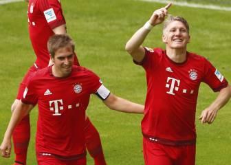 Lahm abre las puertas del Bayern a Schweinsteiger
