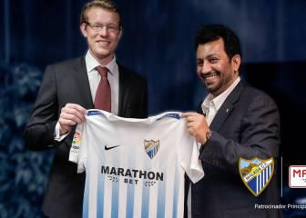 Marathonbet, patrocinador del Málaga hasta el año 2018