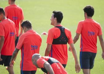 Busquets y Mascherano son las novedades para el Leicester