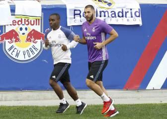 Benzema sigue en solitario a 6 días de la Supercopa de Europa