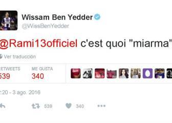 Ben Yedder a Rami: