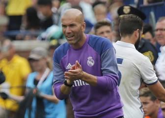 Zidane: 'No creo que Bale, Pepe y Kroos lleguen a la Supercopa'