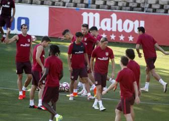 El Atlético se entrena con Moyá, pero todavía sin Gameiro