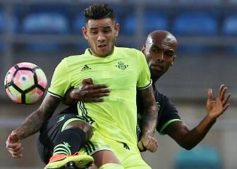 Un hat-trick de Rubén Castro impulsa al Betis en Faro