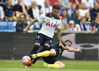 El Tottenham abusa del Inter
