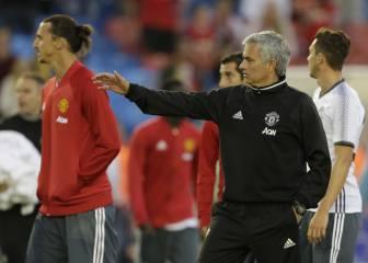 Mourinho da galones a Ibrahimovic