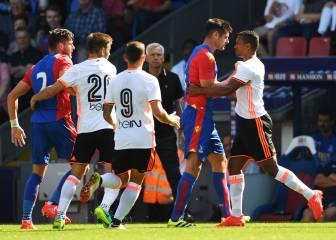 El Valencia cae en Londres en el debut de Nani y Montoya