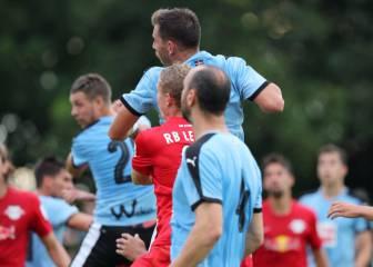 Tercera derrota seguida del Eibar al caer ante el Leipzig